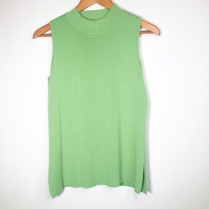 Misook Small Green Top